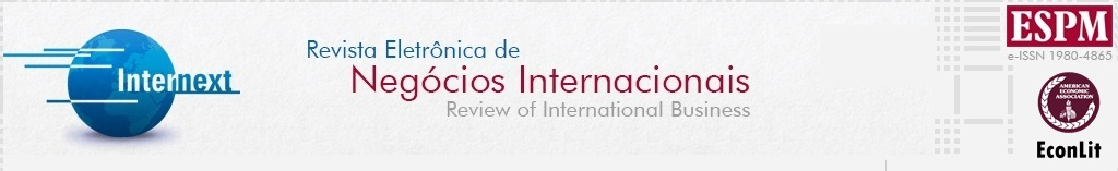 Internext | Revista Eletrônica de Negócios Internacionais da ESPM